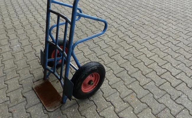 Bauma - LKW und Transportmittel - Sackkarre