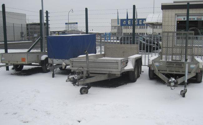 Bauma - LKW und Transportmittel - Anhänger