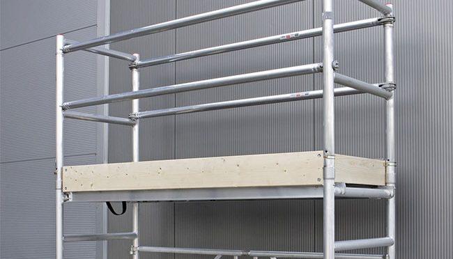 Bauma - Arbeitsbühnen und Gerüste - Alu-Rollgerüst
