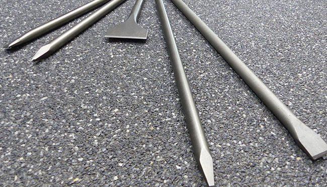 Bauma - Beton und Abbruch - Meißelverschleisse