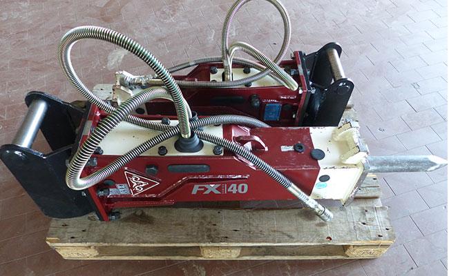 Bauma - Erdbewegung -Hydraulischer Hammer