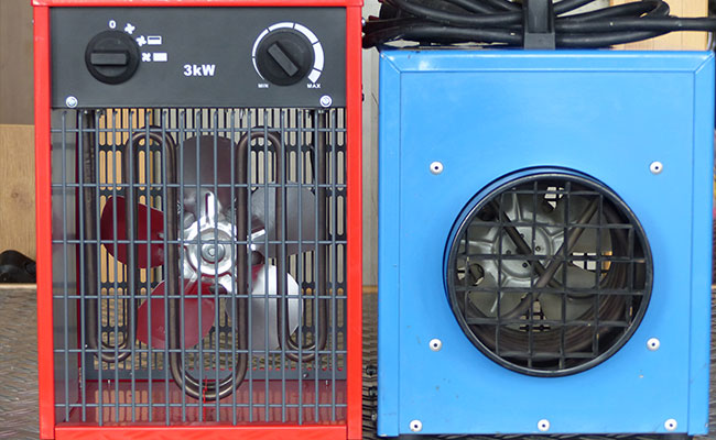 Bauma - Pumpen, Heizen, Trocknen - Elektrogebläse