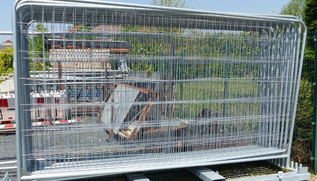 Bauma - Baustelleneinrichtung - Bauzaun