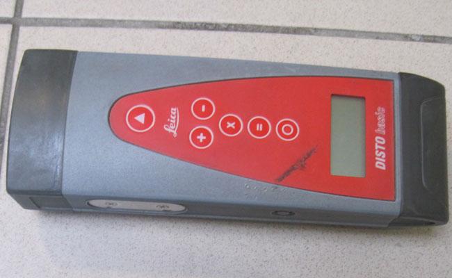 Bauma - Geotechnik - Längenmessgerät