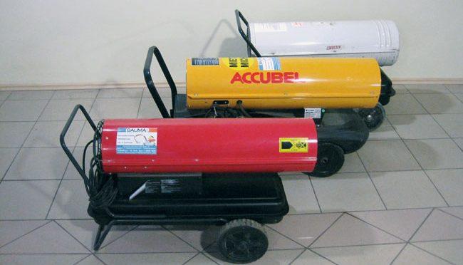 Bauma - Pumpen, Heizen, Trocknen - Dieselheißluftturbine