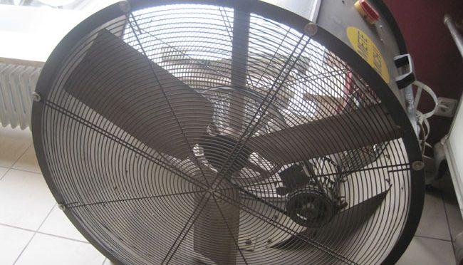 Bauma - Pumpen, Heizen, Trocknen - Ventilator