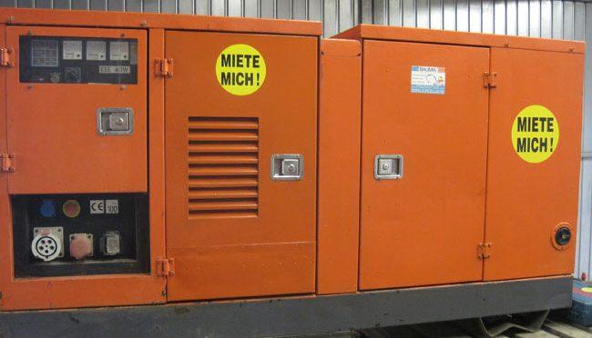 Bauma - Stromerzeuger - Generator 32-KVA