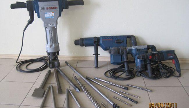 Bauma - Beton und Abbruch - Elektro-Bohrhammer