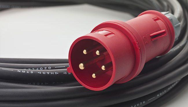 Bauma - Baustelleneinrichtung - Kabel