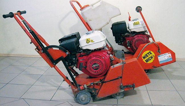 Bauma - Beton und Abbruch - Fugeschneidewagen