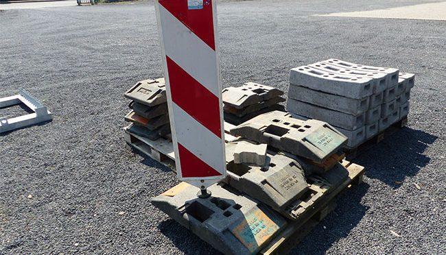 Bauma - Baustelleinrichtung - Warnbake