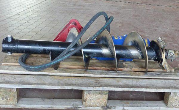 Bauma - Erdbewegung - Hydraulischer -Erdbohrer