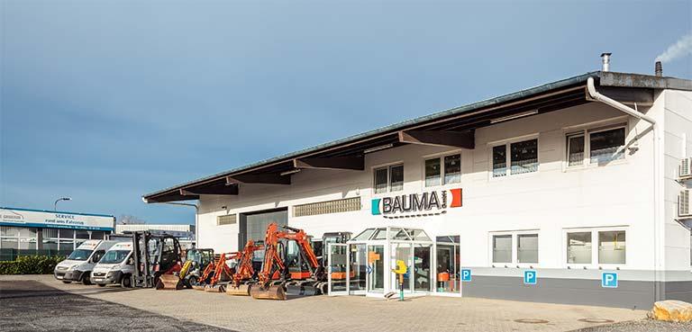 Bauma GmbH in Geilenkirchen - Vermietung und Verkauf von Baumaschinen und Gartengeräten